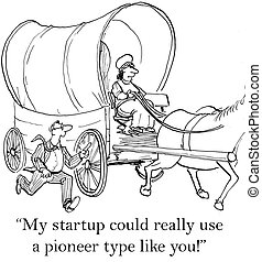 """Small business man wants to hire a pioneer woman - """"My..."""