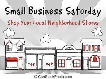 Small Business Saturday, USA - Small Business Saturday...