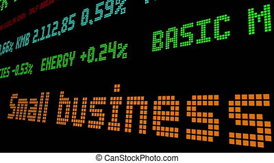 Small businesses expect to fail stock ticker