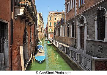 Small canal. Venice, Italy.