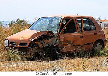 Small car crash