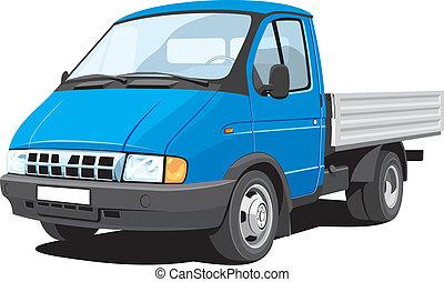 Small cargo truck