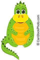 Small cartoon dragon 1