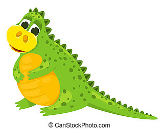 Small cartoon dragon 2