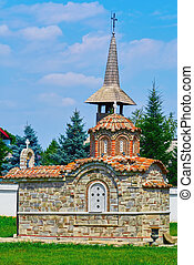 Small Chapel in front of Monastery