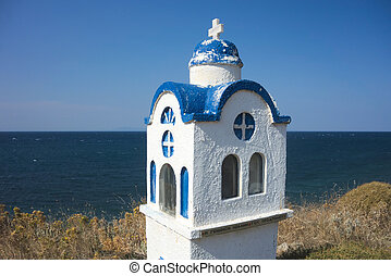 Small chapel in Greece