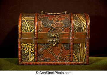 Small chest of treasure