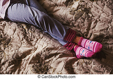 Small Child Resting