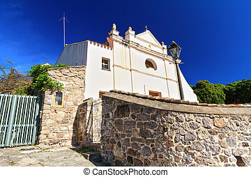 small church in Carloforte