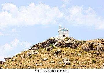 small church in Tinos Island,Greece