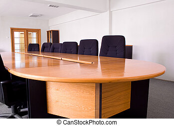 Small corporate meeting room