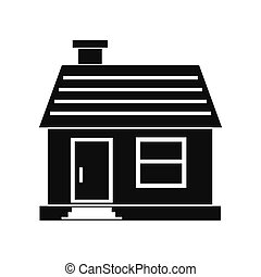 Small cottage icon