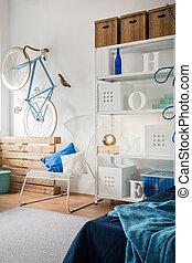 Small cozy room