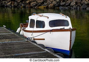 Small cute fisherman's boat