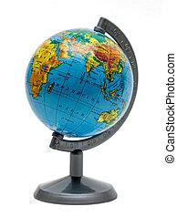 small desk school globe Earth