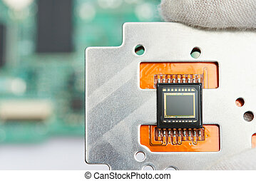 Small digital camera sensor