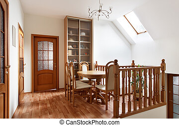 Small dining room in mansion