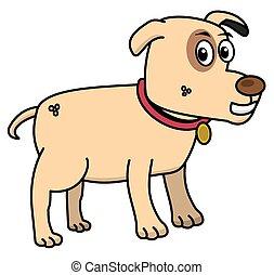 small dog profile