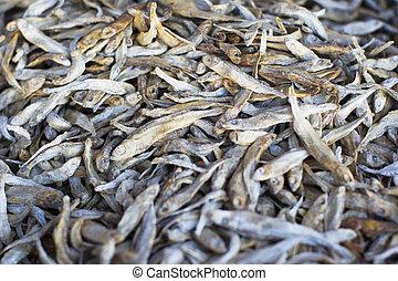 Small dried fish. Taranka