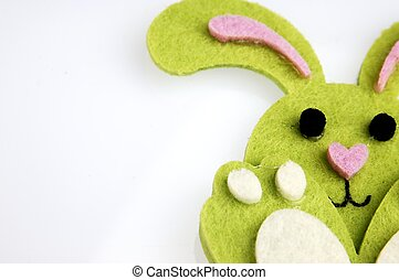 Small Easter bunny toy