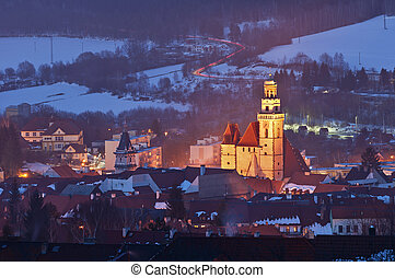 Small European Town. - Image of Prachatice, small town ...