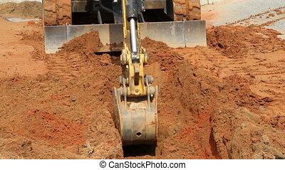 Small Excavator Shovel
