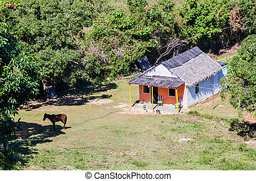 Small farm house in Vinales valley, Cub