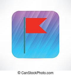 small flag icon