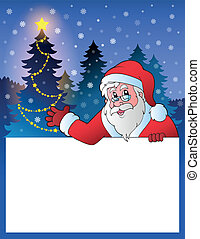 Small frame with Santa Claus 2