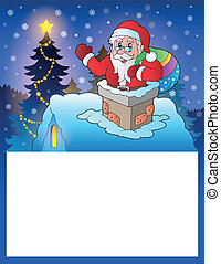 Small frame with Santa Claus 4