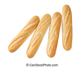 small French baguettes