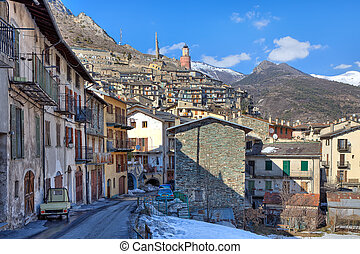 Small french town in the Alps.
