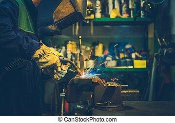 Small Garage Welding