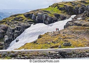 Small glacier in Norway