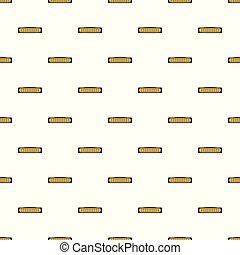 Small heater pattern seamless vector