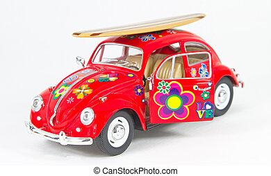 hip red car