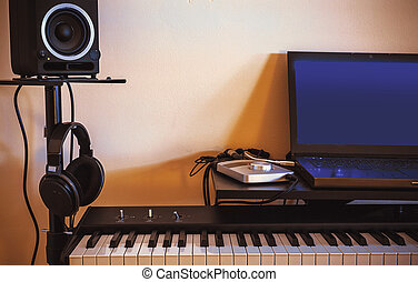 Small Home Audio Studio