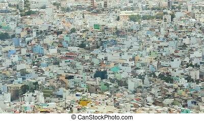 Small houses of Saigon from high 3