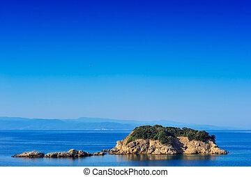 Small island in the Aegean