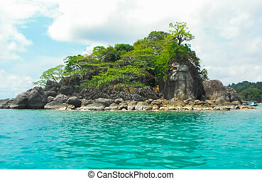 island - Small island on daylight in Thailand