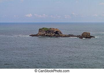 Small islet in National Park Manuel Antonio, Costa Ri