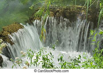 Small Krka Waterfall