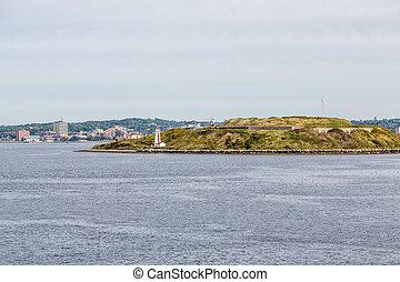 Small Lighthouse Near Halifax