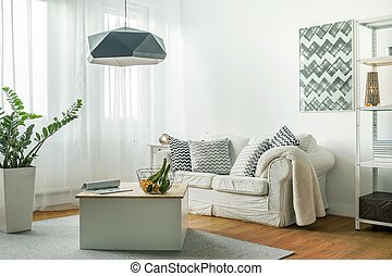 Small living room - Small comfortable living room with...
