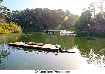 Small Manmade Lake in Golden Gate Park - Golden Gate Park ...
