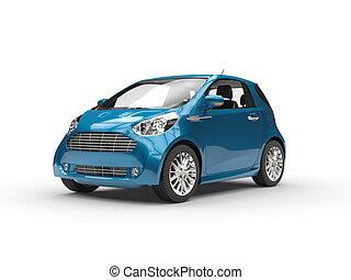 Small Modern Compact Car