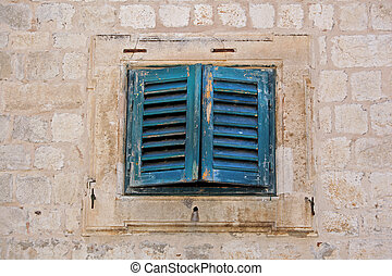 Small old window