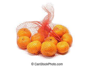 small orange detail fruit