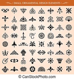 Small Ornamental Design Elements