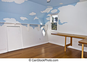 Small Painted Room